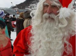 Santa Claus at St Moritz Polo