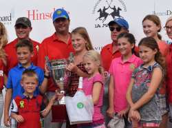 """OAK BROOK POLO HELPS RAISE NEARLY $25K AT """"TEAM UP FOR TONY"""" BENEFIT POLO MATCH"""