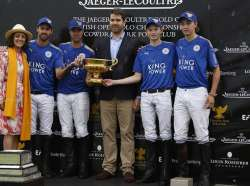 King Power Champions of 2017 British Gold Cup sponsored by Jaeger-LeCoultre